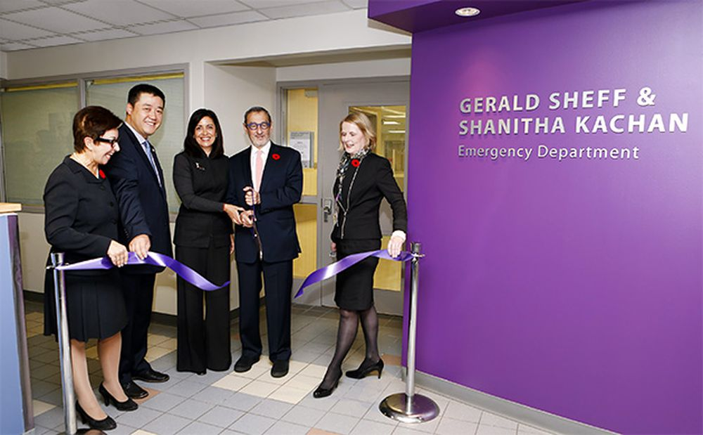 CAMH's Emer­gency Depart­ment is Unveiled