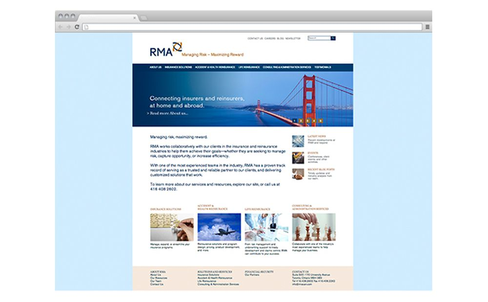 RMA is Poised for Growth with New Website