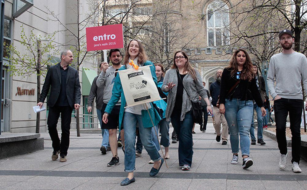 Jane's Walk 2016: From a Wayfind­ing Perspec­tive