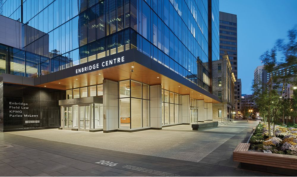 Enbridge Centre Takes History to the Street