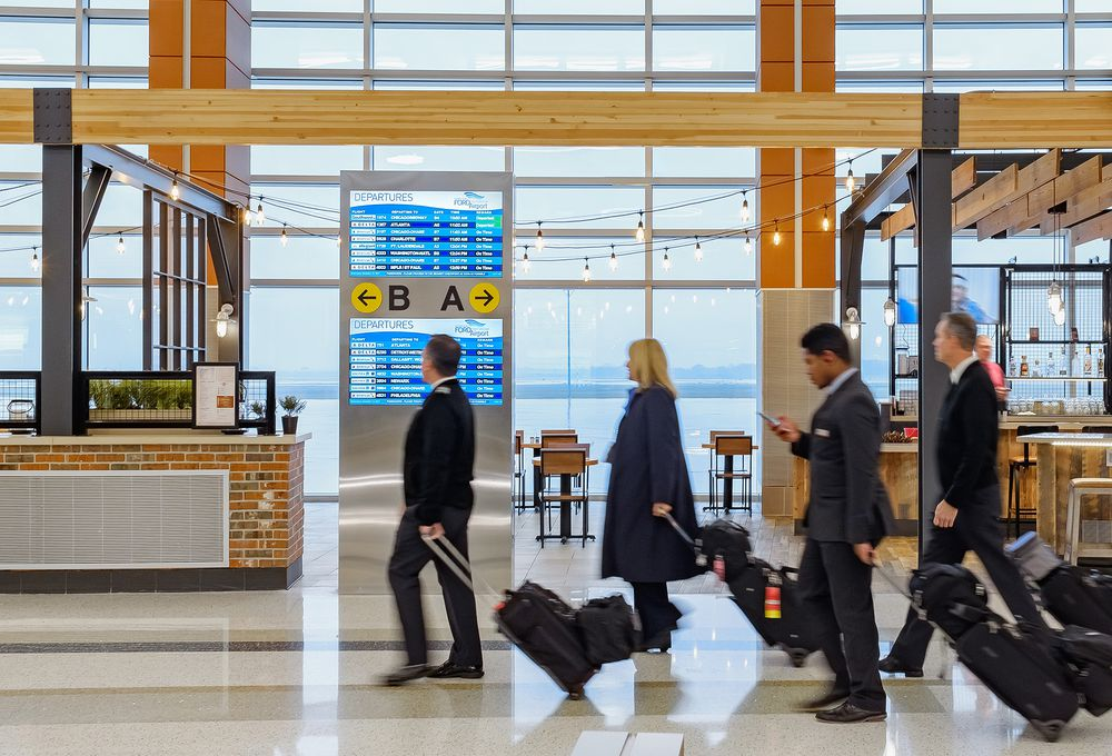 Transformation at Gerald R Ford International Airport