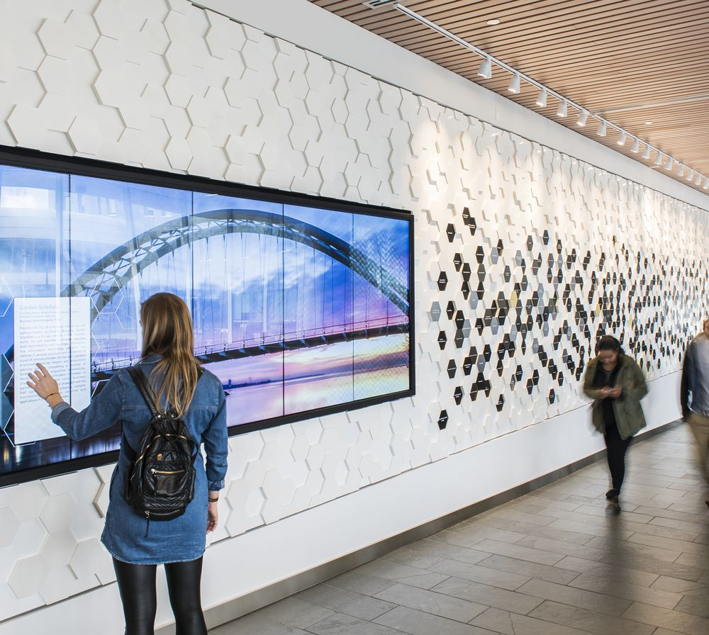 Project Feature: Humber College Donor Wall