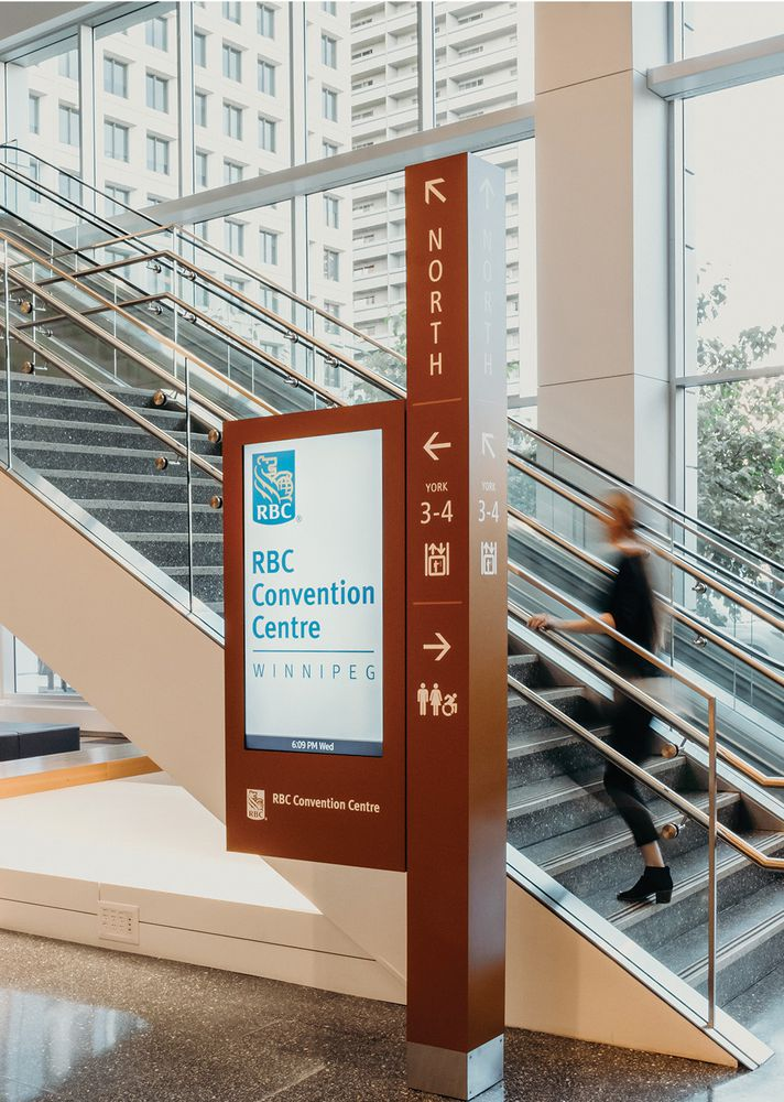 Connecting Old and New at RBC Convention Centre