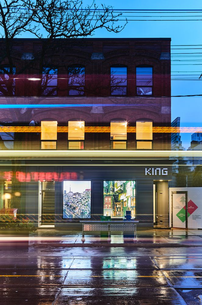 An Immersive Glimpse Into KING Toronto