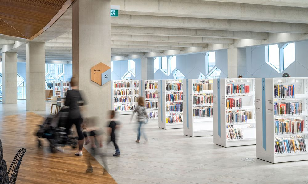 SEGD Global Design Award (Merit Award) for Calgary Central Library