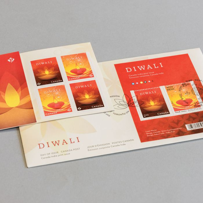 CANADA POST DIWALI STAMP