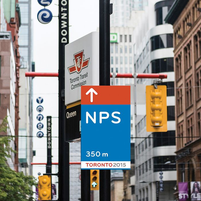 PAN AM GAMES PUBLIC REALM WAYFINDING