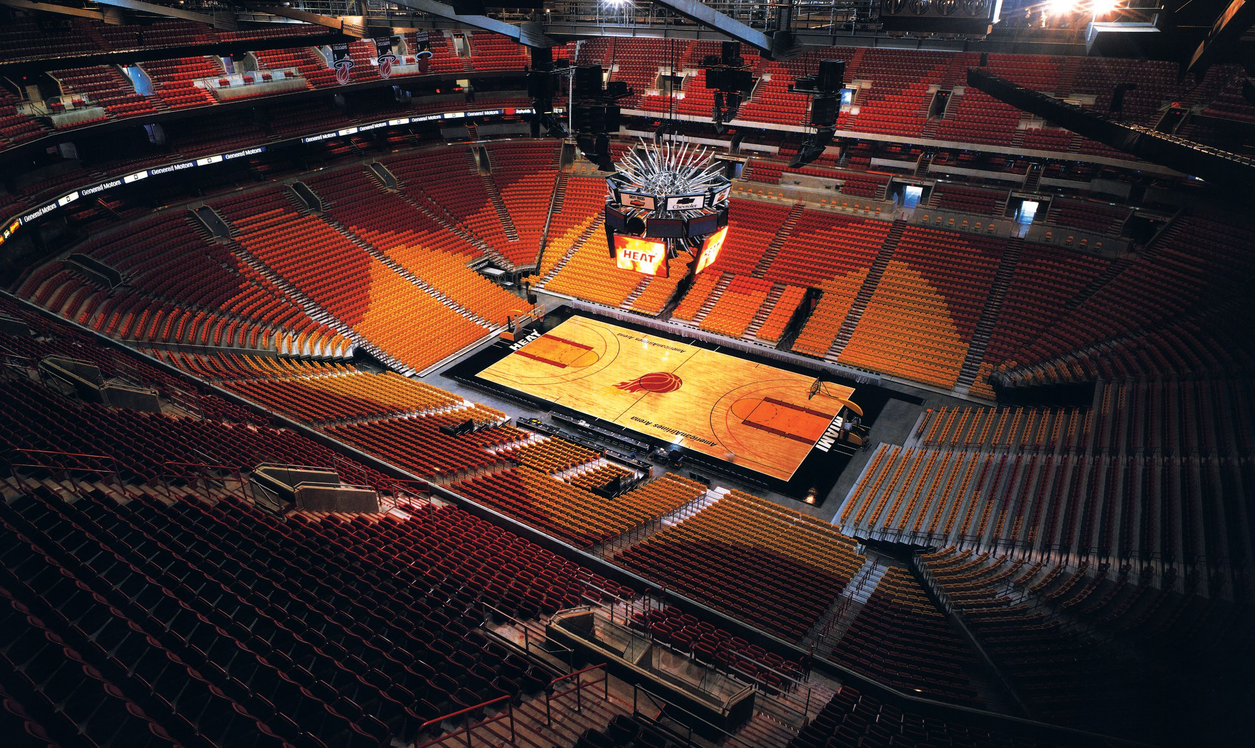 American Airlines Arena Entro Communications