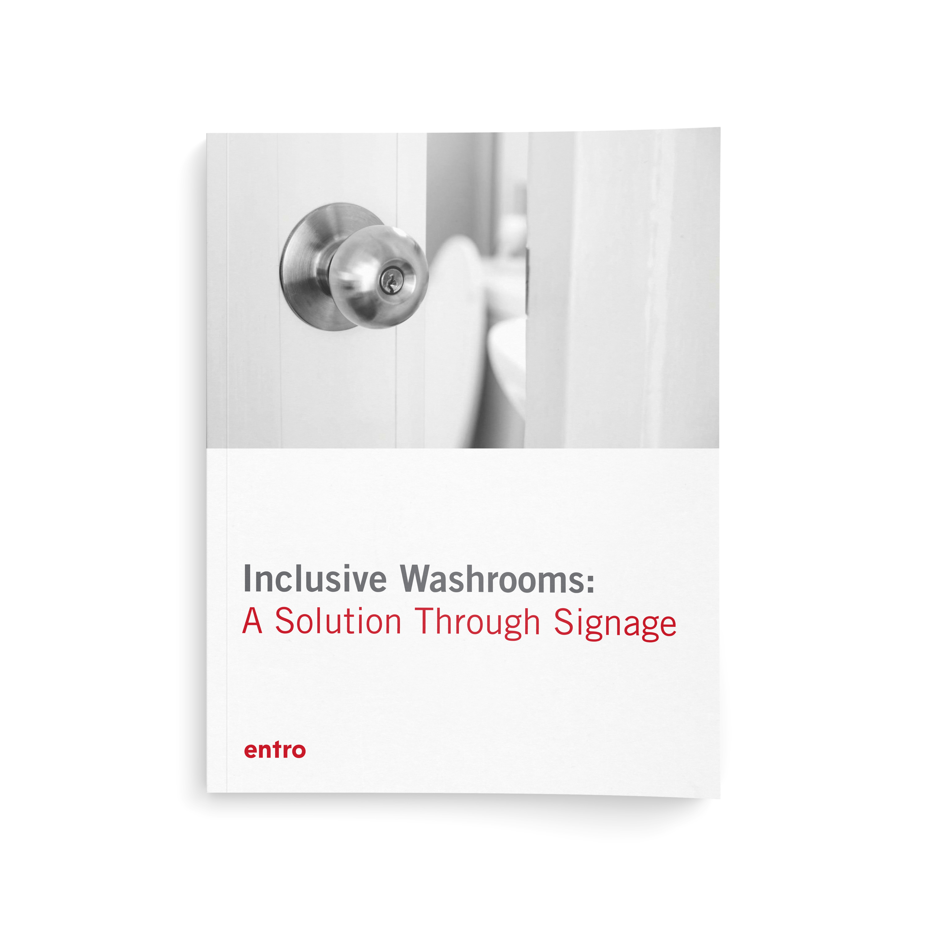 Inclusive Washrooms – A Solution Through Signage